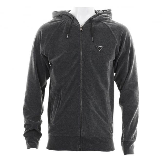 CREATIVE RECREATION Mens Matteson 117 Hooded Top (Charcoal)