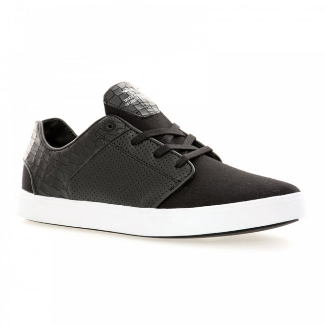 Creative Recreation Mens Santos 115 Trainers (Black/White)