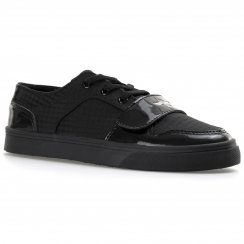 Creative Recreation Youths Cesario Lo XVI 315 Patent Trainers (Black)