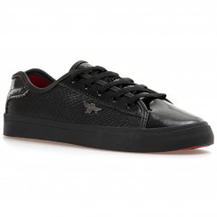 Creative Recreation Youths Kaplan 315 Trainers (Black/Red)