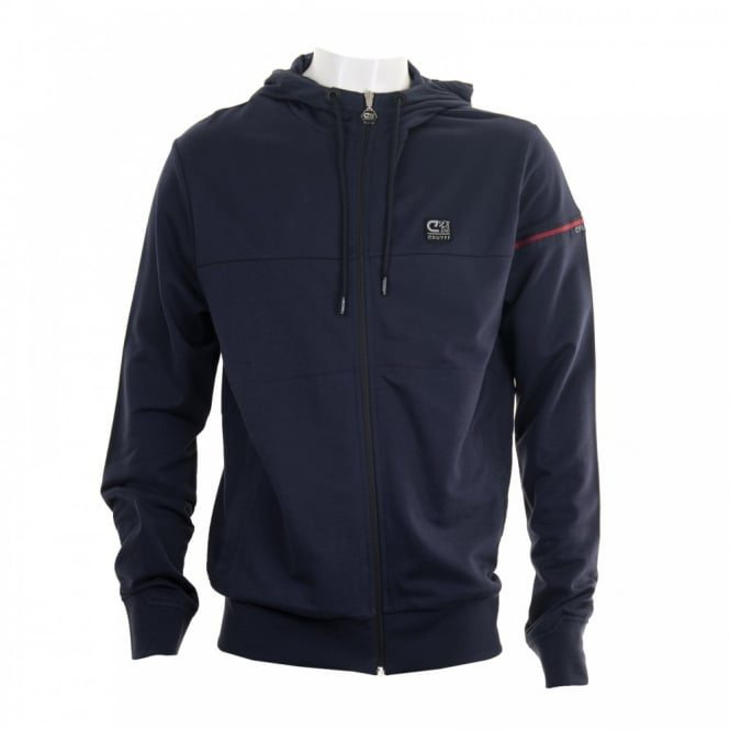 Cruyff Mens Escola 116 Lounge Hoody (Navy)