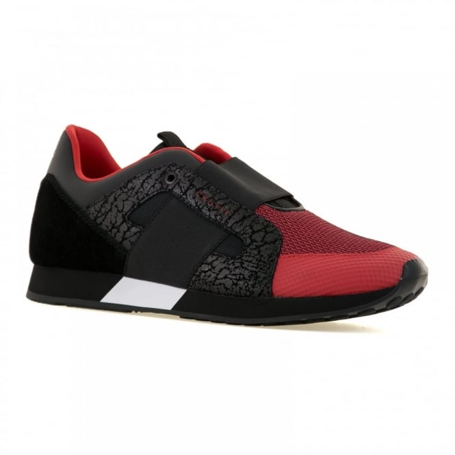 Cruyff Mens Rapid Warp Mesh Trainers (Flash Red)