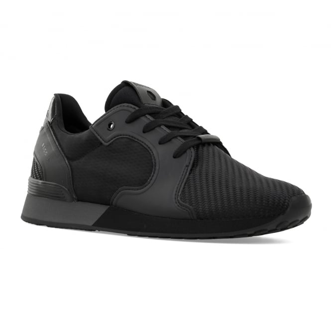 Cruyff Mens Tech Rapid 416 Kevlar Mesh Trainers (Black)