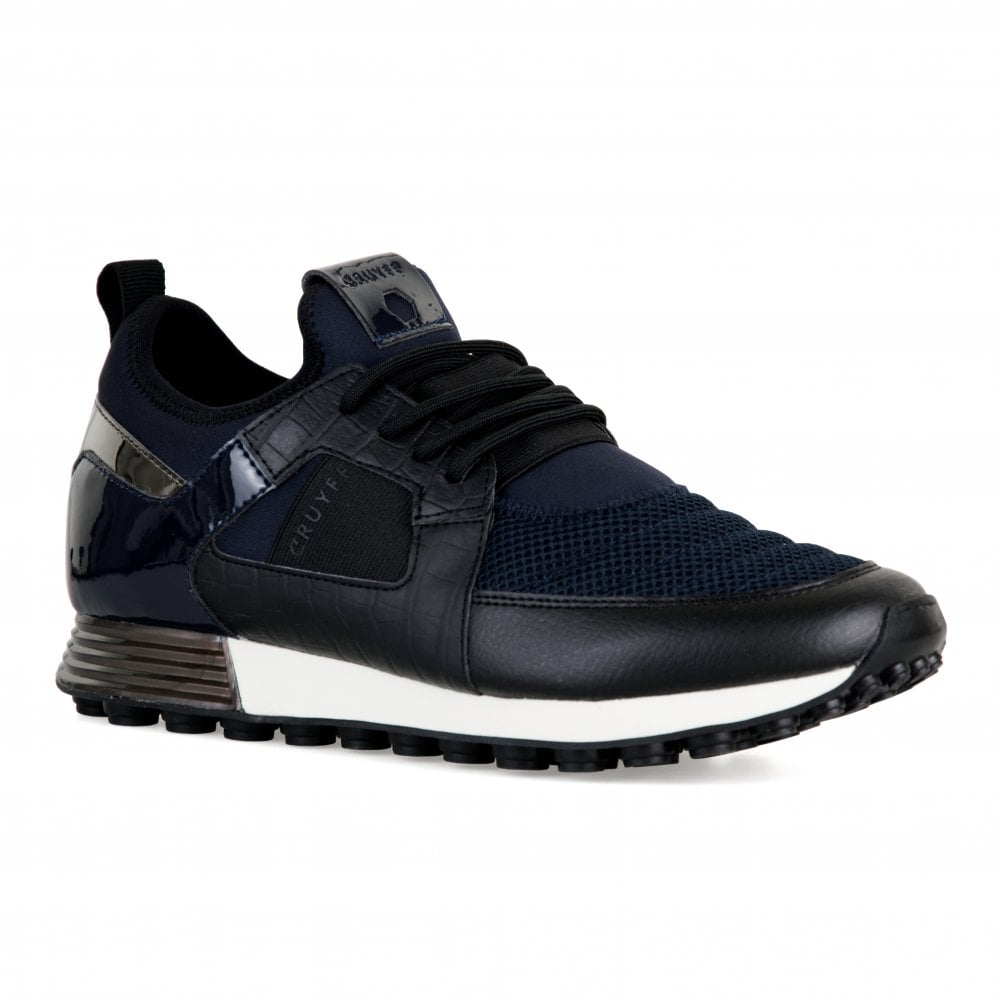 216fcca1f210 Cruyff Mens Traxx Trainers (Navy) - Mens from Loofes UK