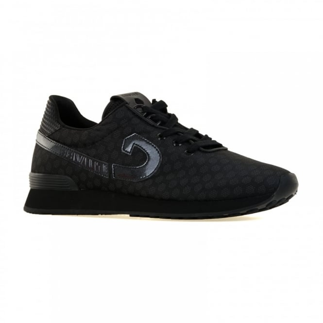 Cruyff Mens Trophy Rapid V2 Hyper Knit Trainers (Black)