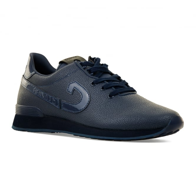 Cruyff Mens Trophy Rapid V2 Metal Ray 416 Trainers (Navy)