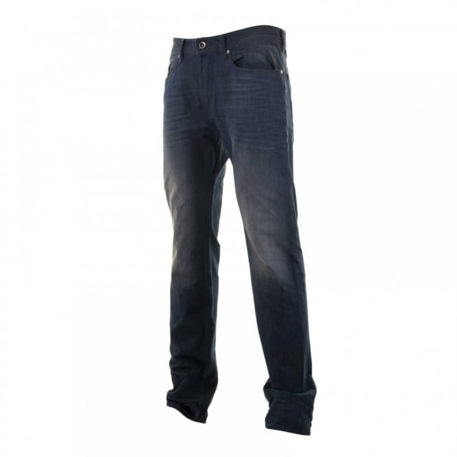 Diesel Mens Buster Slim Tapered Jeans (Blue)