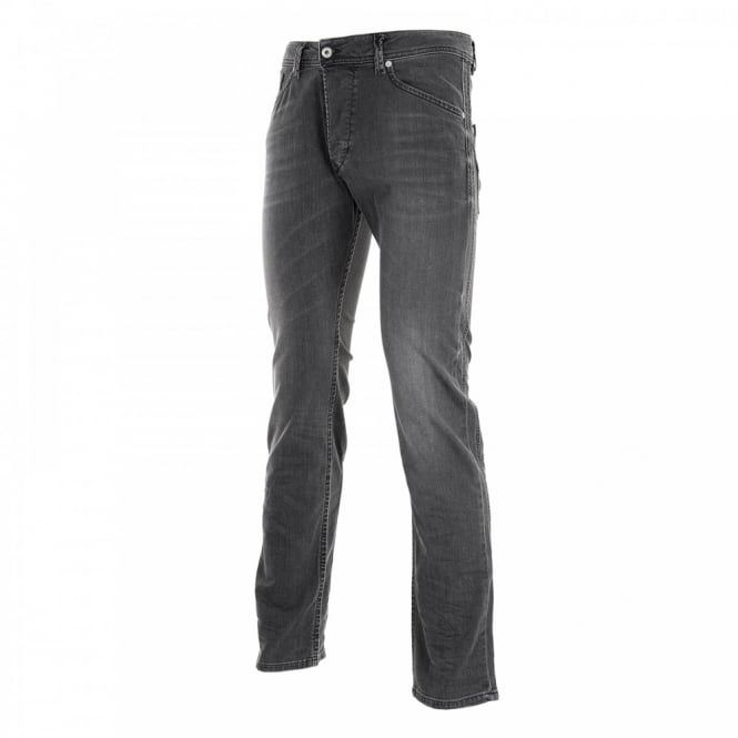 Diesel Mens Darron Slim Fit Jeans (Black)