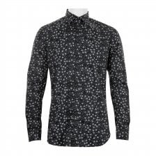 Diesel Mens S-Stary Camicia Shirt (Black)