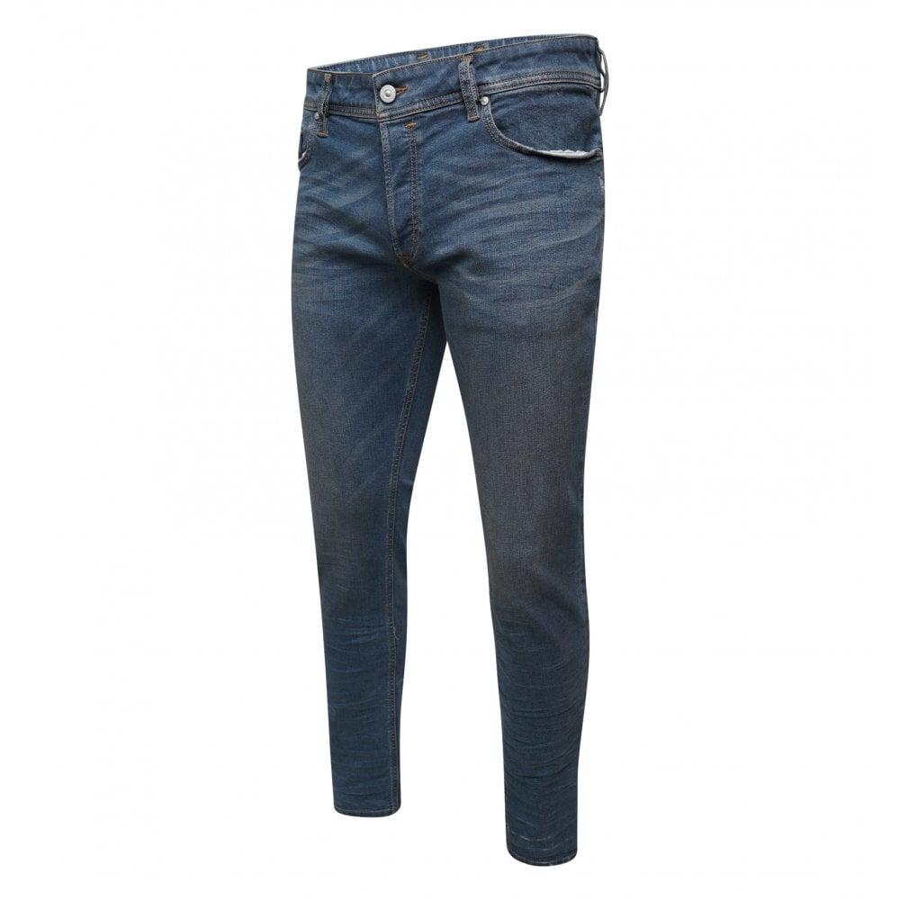 4e7f0952 Diesel Mens Sleenker 085AE Jeans (Blue) - Mens from Loofes UK
