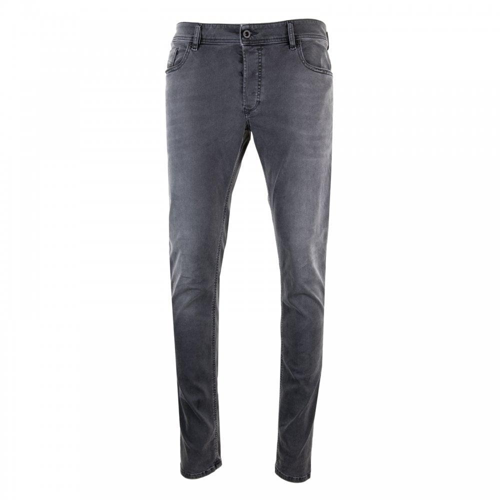 a5dc1a6e6f2364 Diesel Mens Slim Skinny Sleenker Jeans (Black) - Mens from Loofes UK