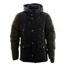 Diesel Mens W Unresty Padded Coat (Black)