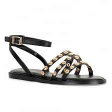 Dolcis Womens Jemima Scandal Sandals (Black)