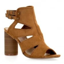 Dolcis Womens Valarie Sandals (Tan)