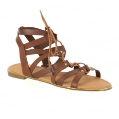 Dolcis Womens Wyomie Sandals (Tan)
