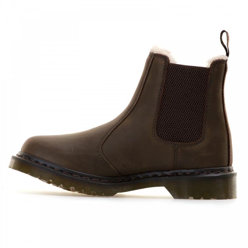 dr martens dr martens leonore chelsea boots brown dr