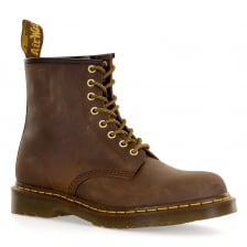 Dr. Martens Mens 1460 Aztec Crazyhorse 8 Eye Boots (Brown)