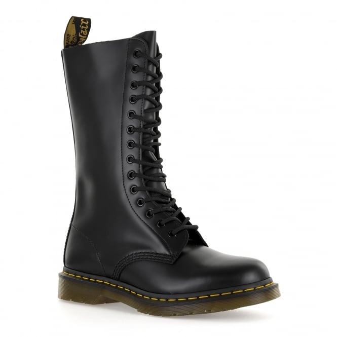 Dr. Martens Mens 1914 14 Eye Boots (Black)