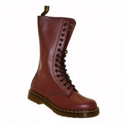 Dr. Martens Mens 1914 14 Eye Boots (Cherry Red)