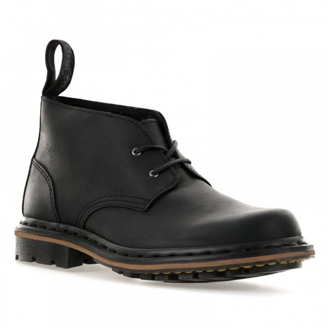 Dr. Martens Mens Deverell Desert 316 Boots (Black)