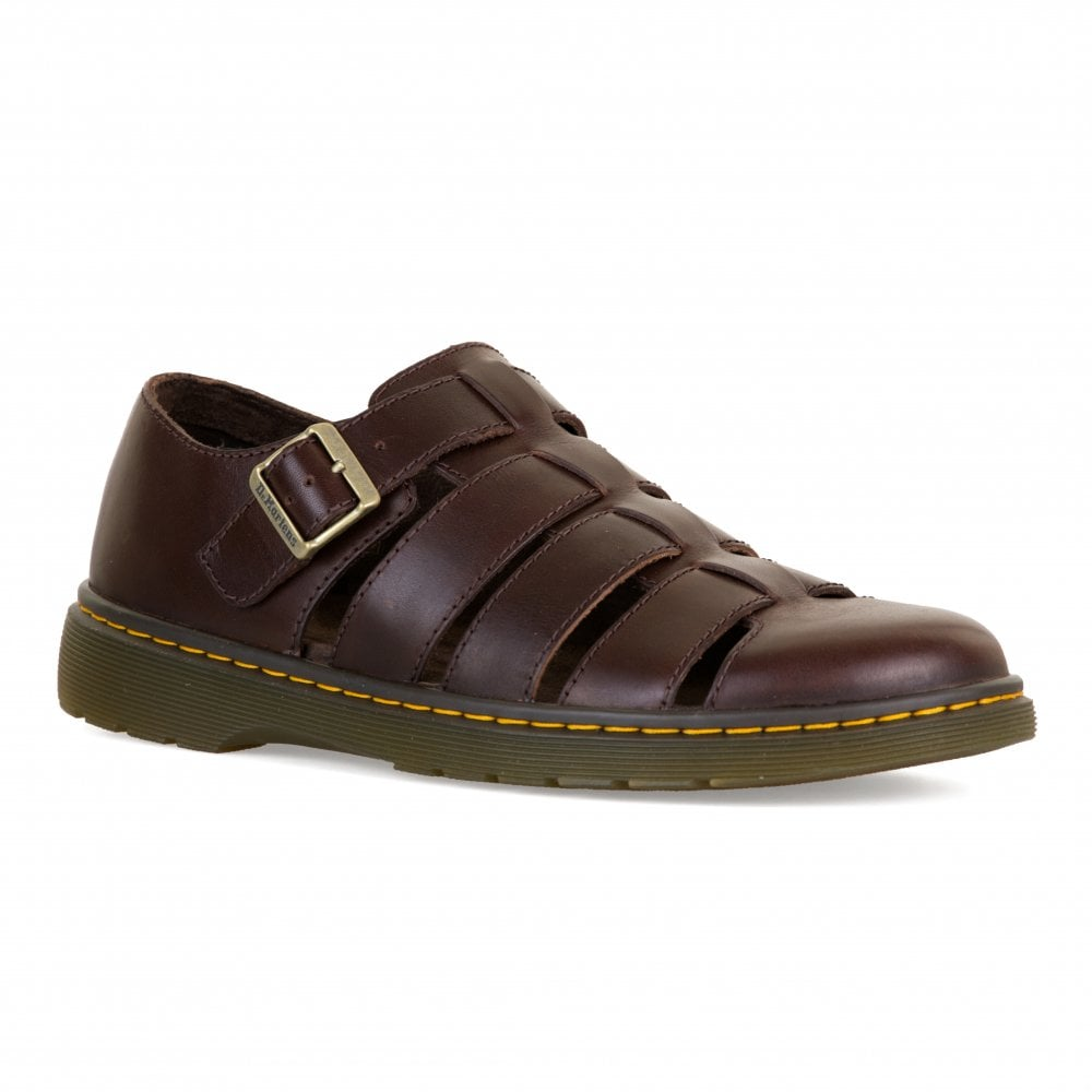 922c619c1f2b Dr. Martens Mens Fenton Sandals (Brown) - Mens from Loofes UK