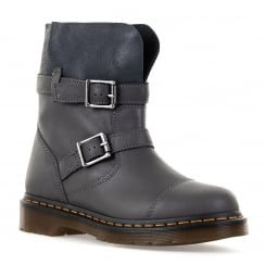 Dr. Martens Mens Kirsty Slouch Boots (Lead)
