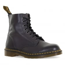 Dr. Martens Mens Pascal 8 Eye Antique Temperley Boots (Charcoal)