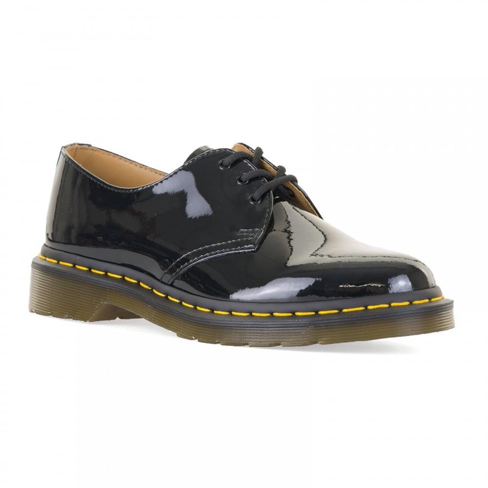 neueste trends von 2019 dauerhafte Modellierung Auschecken Womens 1461 Patent Leather Lamper Shoes (Black)