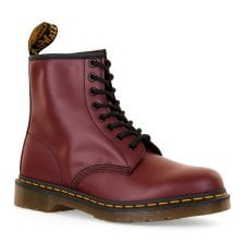 Dr. Martens Womens DMC 1460 8 Eye Boots (Cherry Red)