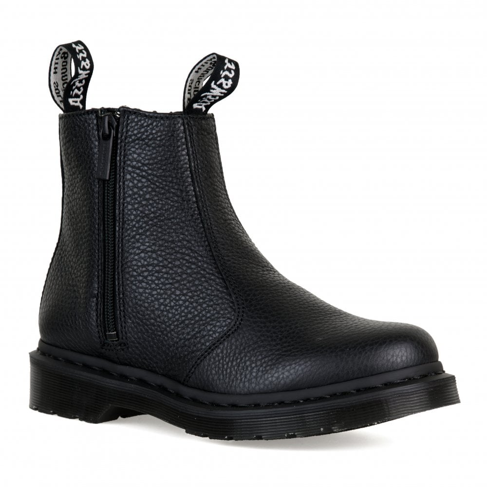 Dr. Martens Womens Zips Aunt Sally Boots (Black) - Womens from Loofes UK 97be9828294f