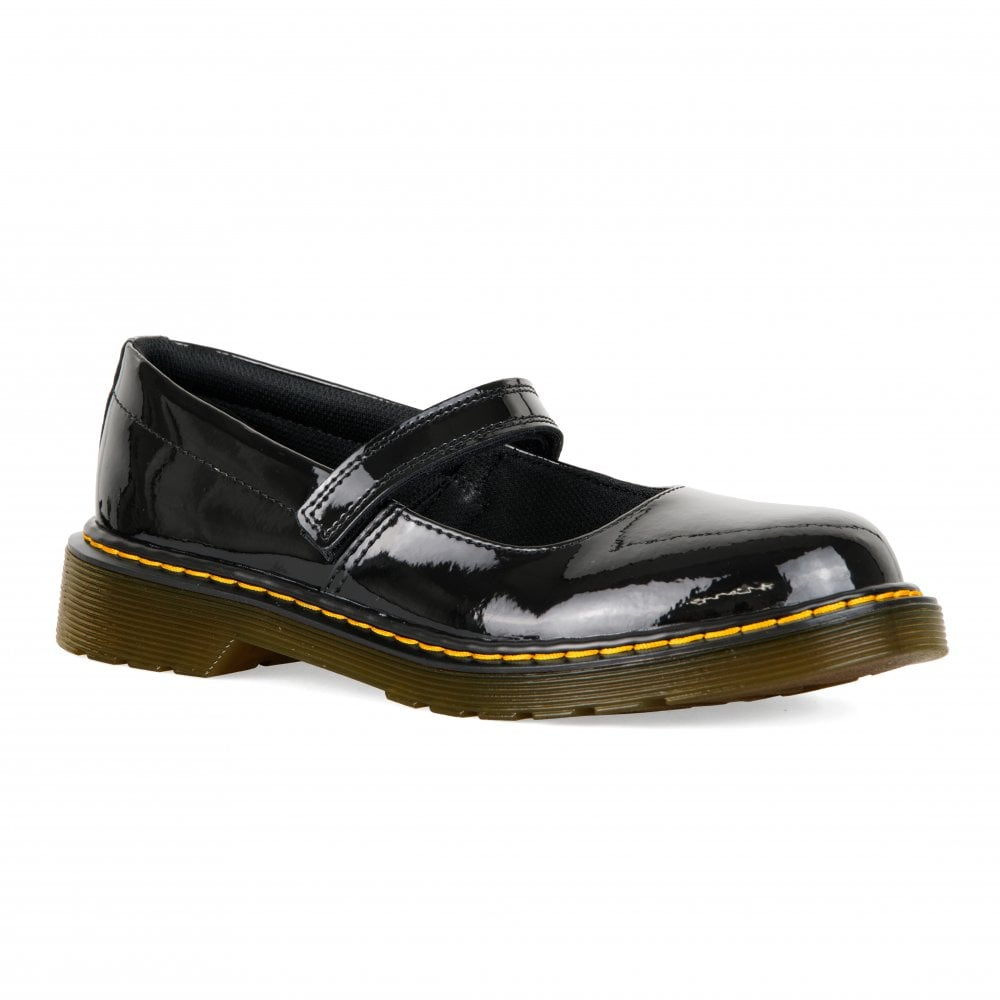 Dr. Martens Youths Maccy Mary Jane Patent Shoes (Black) - Kids from ... 049324723