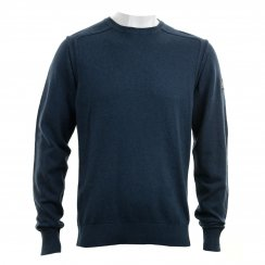 Duck And Cover Mens Artem Plain Crew Knit Sweater (Thunder)
