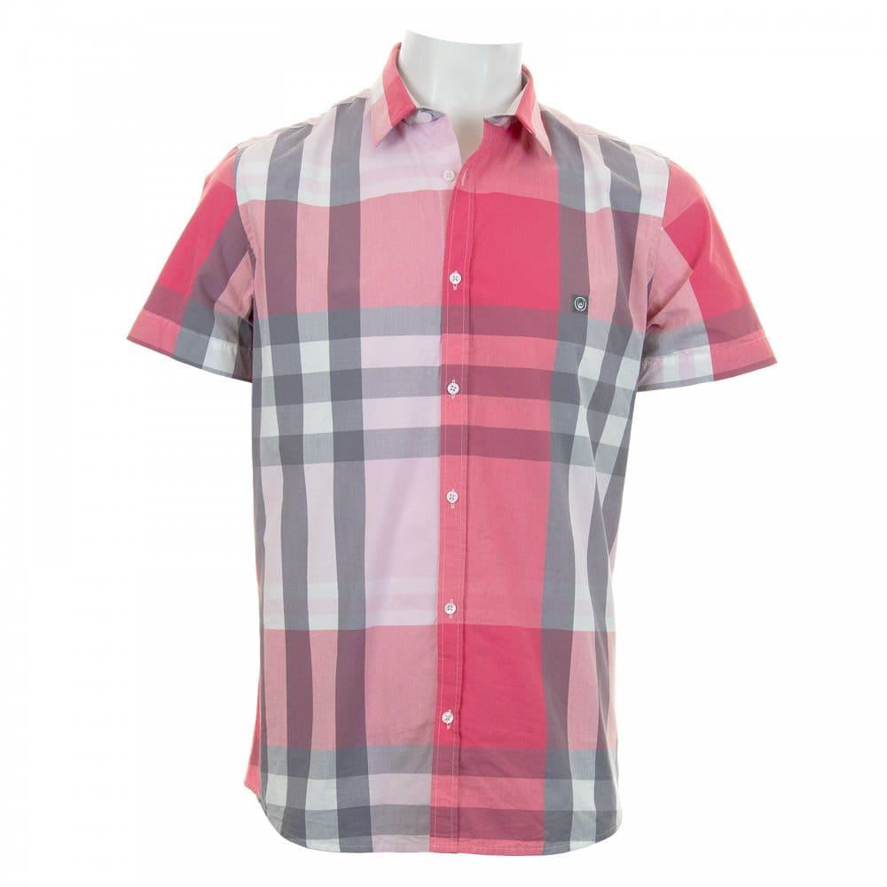 Duck And Cover Duck And Cover Mens Cecil Check Shirt