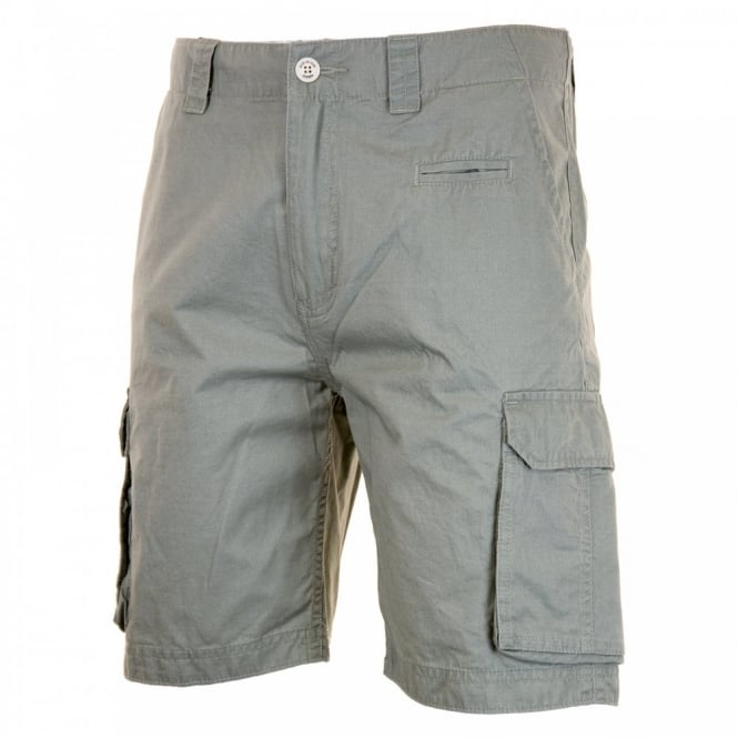 Duck And Cover Mens Cusack Cargo Shorts (Dove)