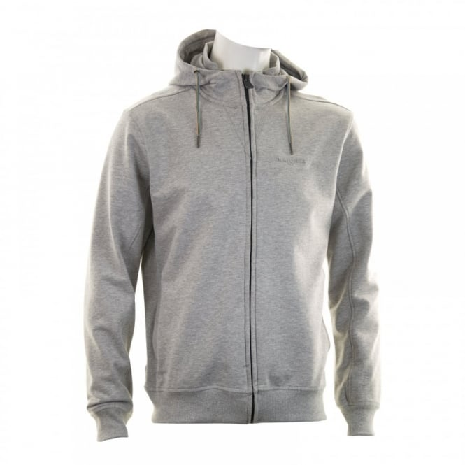 Duck And Cover Mens Dynamic Hooded Top (Light Grey Marl)