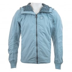 Duck And Cover Mens Garner Lightweight Coat (Ice Blue)
