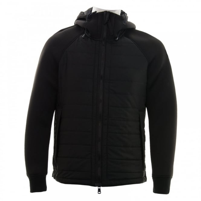Duck And Cover Mens Locus Hooded Jacket (Black)
