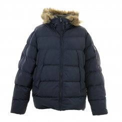 Duck And Cover Mens Parade Puffa Coat (Navy)