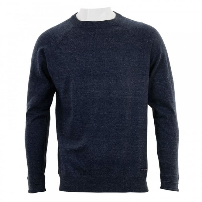 Duck And Cover Mens Relay Crew Neck Knitwear (Navy)