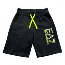 EA7 Juniors Leg Print Shorts (Navy)