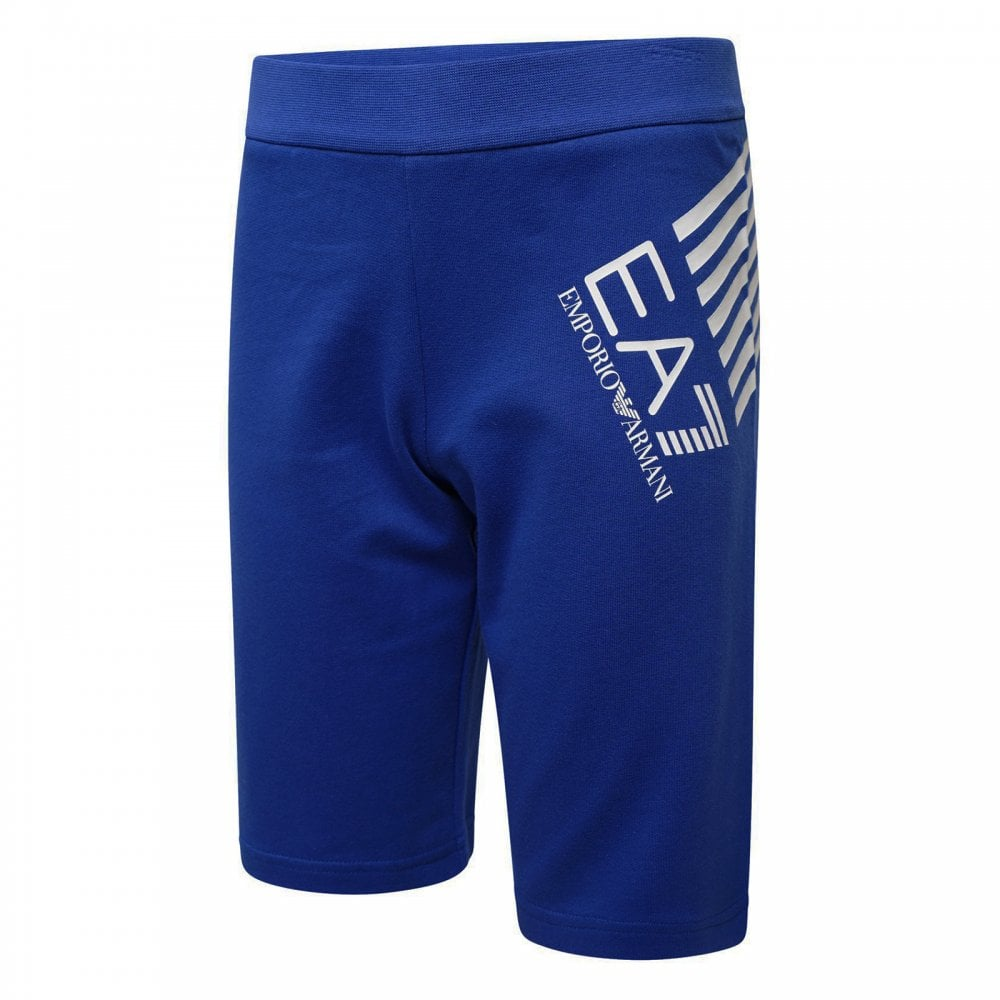e03f3233545c0 EA7 Juniors Stripe Logo Bermuda Shorts (Royal) - Kids from Loofes UK