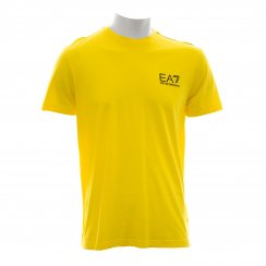 EA7 Mens Core ID Cotton Tee-Shirt (Yellow)