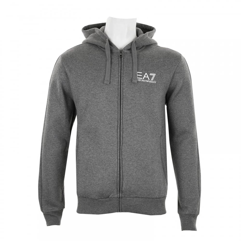 ea7 blue hoodie