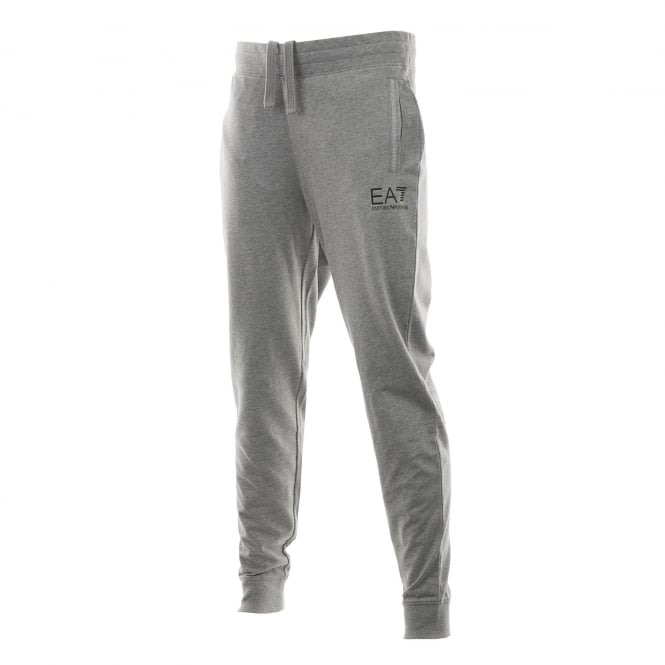EA7 Mens Logo Sweat Pants (Grey)