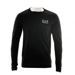 EA7 Mens Logo T-Shirt (Black)