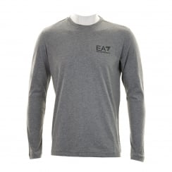 EA7 Mens Logo T-Shirt (Grey)