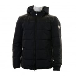 EA7 Mens Quilted Bomber Jacket (Navy)