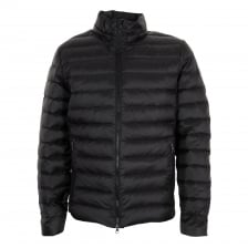 EA7 Mens Quilted Down Jacket (Black)