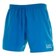 EA7 Mens Sea World Core Swim Shorts (Blue)