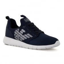 EA7 Mens Simple Racer U 118 Trainers (Navy)